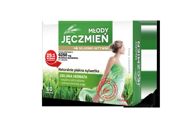 młody zielony jęczmień bio 100 tabletek 500mg myvita